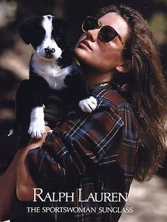 Two of my favourite things in life. Dogs & Ralph Lauren!