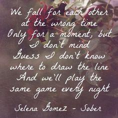 Selena Gomez - Sober