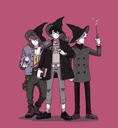 'Witch Boys' by Míriam Bonastre Fantasy Character Design, Character Design Inspiration, Character Concept, Character Art, Concept Art, Witch Drawing, Witch Characters, Male Witch, Comic Anime