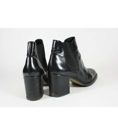 Calvin Klein All Leather Ankle Boots / 39 - WST.fi