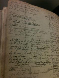 Everyone does drafts, cross=outs, rewrites, deletes... A notebook of William Blake's (British Library - via @SamiraAhmedUK)
