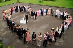Hart foto bruiloft