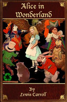 Classic Childrens Book ALICE in WONDERLAND Digital by HowToBooks