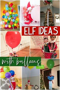 If you have balloons in your craft supplies, you will want to pay attention to these Elf on the Shelf Ideas with Balloons. Cute Elf on the Shelf Balloon ideas for Elf on the Shelf Arrival, Elf Antics, Bad or Naughty Elf on the Shelf ideas and more. New Elf on the Shelf ideas daily plus free Elf on the Shelf printables. #FrugalCouponLiving #ElfontheShelf #ElfontheShelfIdeas #ElfIdeas #funnyelfideas #funnyelfontheshelf #Balloons Hot Air Balloon Paper, Diy Hot Air Balloons, Latex Balloons, The Balloon, The Elf, Elf On The Shelf, What Is Elf, Naughty Elf, Balloon Ideas