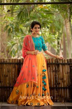 Jacket Lehenga, Lehenga Skirt, Kurti Sleeves Design, Kurti Neck Designs, Half Saree Designs, Lehenga Designs, Banarasi Lehenga, Anarkali, Designer Gowns