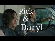 Rick & Daryl Funny Moments - YouTube