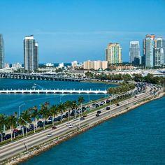 South Beach Florida, Miami Florida, Miami Beach, Birds In Flight, San Francisco Skyline, New York Skyline, Around The Worlds, California, Stock Photos