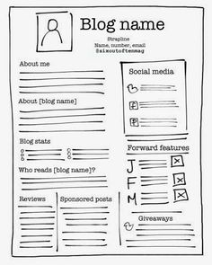 How to create a blogger press kit or media pack
