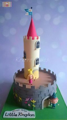 Ben and Holly's Little Kingdom - Cake by Kyoko Grussu (Kokoro Cakes)