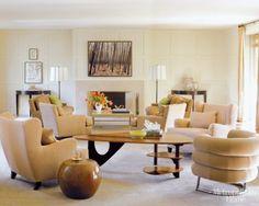 Barbara Barry Reno #camel #cream #metropolitan Home