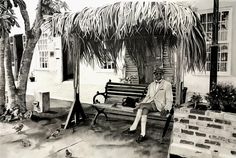 Original People Drawing by Sonia Isabelle Pencil Art, Pencil Drawings, Saint Georges, Carousel, Les Oeuvres, Fair Grounds, Travel, Bermudas, Drawing Drawing