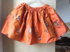 Silk Skirt handpainted