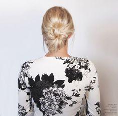 Messy Bun For Short Hair | Kassinka | Bloglovin'