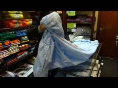 Cómo doblar una sábana adaptable sin quede un gurruño en el armario