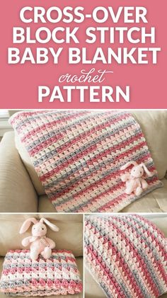 One of my favorite crochet projects to work on is the humble and sweet baby blanket. Not only are baby blankets adorable, they're also super quick and easy to make. Also, they mean the world to the…