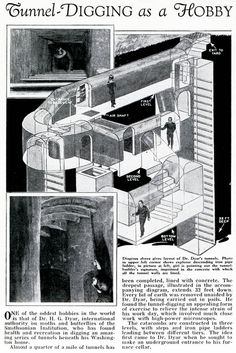 ...the DIY subterranean excavations of William Lyttle, aka the Mole Man of Hackney