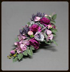 Dekoracje nagrobne Ikebana, Funeral, Floral Wreath, Wreaths, Nails, Flowers, Diy, Home Decor, Finger Nails