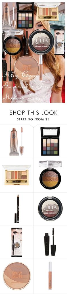 """""""Miley Cyrus Inspired - Teen Makeup Lesson"""" by oroartye-1 on Polyvore featuring beauty, Cyrus, Urban Decay, NYX, Milani, Rimmel, ULTA, Ardell, L'Oréal Paris and Maybelline"""