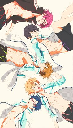Browse FREE collected by Lupu Marian and make your own Anime album. 5 Anime, Fanarts Anime, Free Anime, Anime Shows, Free Manga, Cute Anime Boy, I Love Anime, Rin Free, Free Makoto