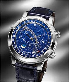 Patek Philippe Grand Complications men's watch. Click to see more Patek watches: http://www.wixonjewelers.com/patek-philippe-within-fine-timepieces.php