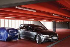 Audi A7 parks itself.