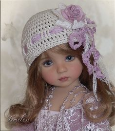 TIMELESS Hat 4Effner Little Darling Mini Fe Lishe Ellowyne Prudence BJD by Linda