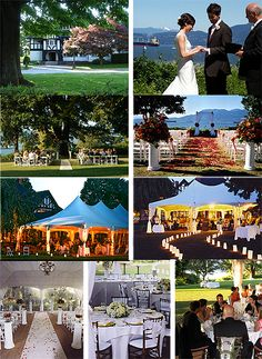 Brock House: A while back, my MOH and a BM and I went out and spied on a wedding (from afar! Wedding Locations, Wedding Venues, Table Arrangements, Vancouver, Romance, Table Decorations, Pretty, House, Inspiration