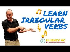 Learn English ESL Irregular Verbs Grammar Rap Song Stick Stuck Stuck with Fluency MC! - YouTube