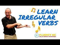Learn English ESL Irregular Verbs Grammar Rap Song Stick Stuck Stuck with Fluency MC! - YouTube