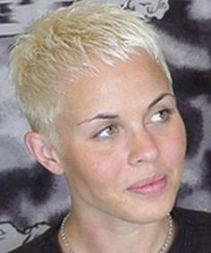 ... short hairstyles voguish messy short in addition UltraShort Pixie
