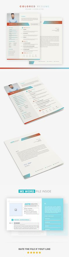 Resume Word Resume words, Cv template and Modern resume - easy resumes
