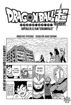 Pagina 1 - Manga 20 - Dragon Ball Super