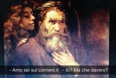 San Matteo e l'angelo - Rembrandt