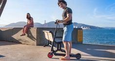 EcoReco M3 Electric Scooter Designed for Commuter $500 miles on $1 20 miles per charge 20 miles top speed