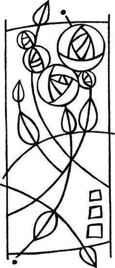 """Képtalálat a következőre: """"crochet art deco"""" Stained Glass Rose, Stained Glass Quilt, Stained Glass Projects, Stained Glass Patterns, Mosaic Patterns, Stained Glass Tattoo, Mosaic Glass, Glass Art, Glass Door"""