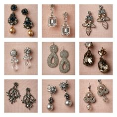Gorgeous earrings from BHLDN.