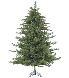 7.5ft Foxtail Pine artificial Christmas tree comes pre-lit with 900 clear smart…
