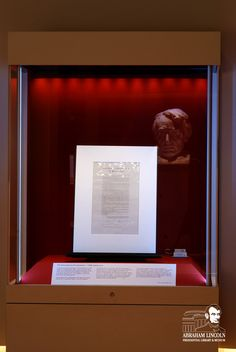 This copy of the Emancipation Proclamation is signed by Abraham Lincoln, William Seward, and John Nicolay and is currently on display through January 21, 2013 at the Abraham Lincoln Presidential Museum.