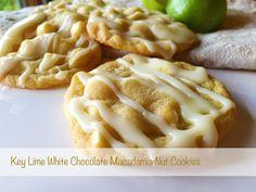 Key Lime White Chocolate Macadamia Nut Cookies