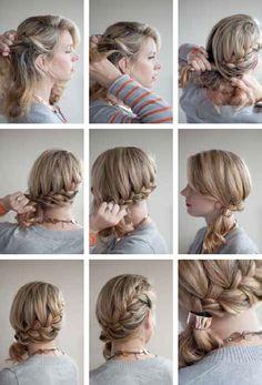 Superb Braids French And Ponies On Pinterest Short Hairstyles Gunalazisus
