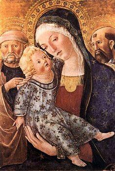 Francesco di Giorgio Martini - Madonna with Child and two Saints.