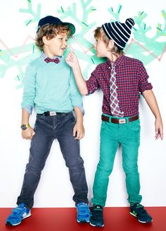The best clothes for boys - by far -soft Tshirts, straight leg pants and awesome sweaters.  I love everything from crewcuts