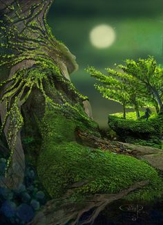 Means in elfic something like : Mother-Tree Fantasy Art, Universe, Creatures, World, Gallery, Nature, Travel, Haus, Viajes