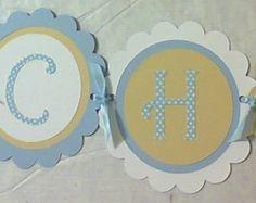varal de letras personalizado em Scrap