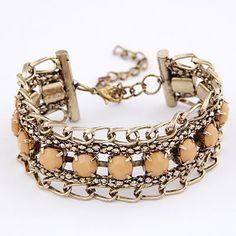 Fashion Bronze Vintage Classic Alloy Korean Fashion Bracelet