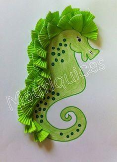 Kids Crafts, Summer Crafts, Diy And Crafts, Arts And Crafts, Paper Crafts, Under The Sea Crafts, Under The Sea Theme, Ocean Crafts, Art N Craft