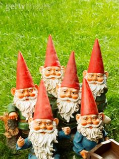 Gnomes. I'd like to have gnomes scattered around in the house!