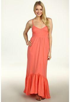 Billabong Faster Maxi Dress (Coral Kiss Heather) - Apparel on shopstyle.com