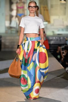 Fashion Trends Spring 2015 Photos - Colorblock Fashion Week Trends - Elle