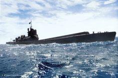 I-400 Sentoku class WWII Japanese submarine and airplane carrier